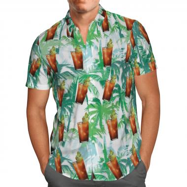 Bloody Mary cocktail Hawaiian Shirts, Beach Short