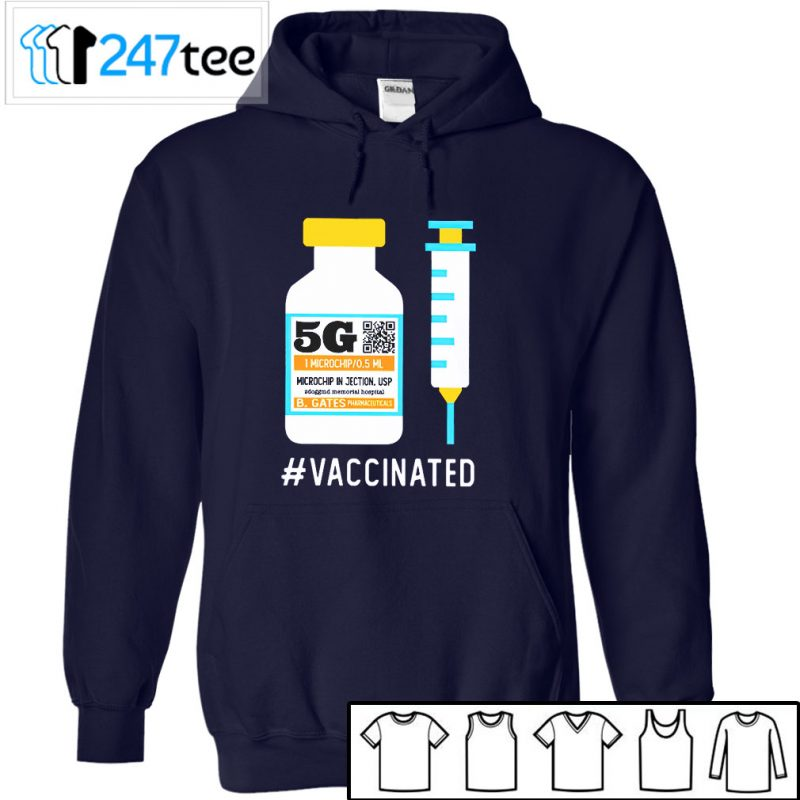 5G Vaccinated T-Shirt