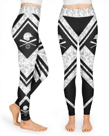 Baseball leggings High Waist Leggings for girls, Best legging for Women