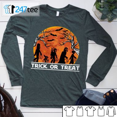 Baby Yoda Trick or Cheat Not so scary Party Halloween Shirt