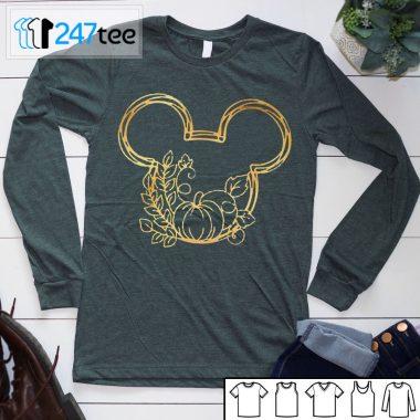 pumpkin mickey mouse halloween T-hirt