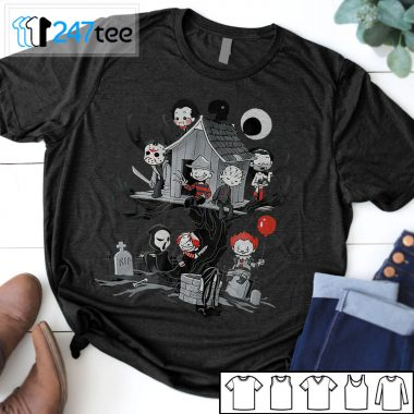 Horror Clubhouse Michael Myers Jason Voorhees halloween t-shirt