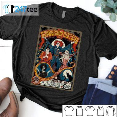 Sanderson Sisters Retro Hocus Pocus vintage Poster T-shirt