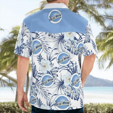 Blue Moon beer Hawaiian Shirts, Beach Short