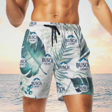 Busch Light Beer Hawaiian Shirts, Beach Short
