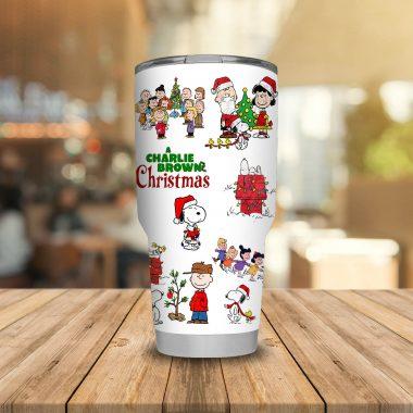Charlie Brown Christmas Tumbler 20oz 30oz
