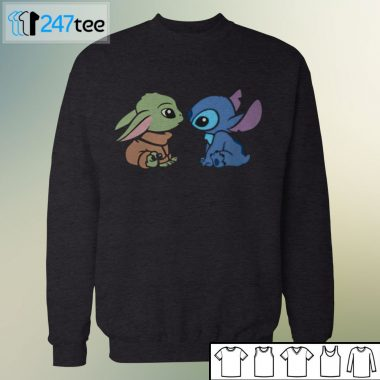 Baby Yoda Stitch Groot halloween Shirt