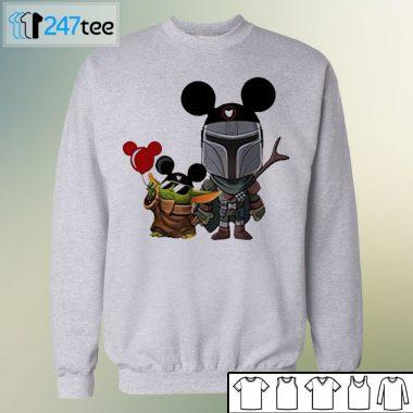 baby Yoda Disney grogu Mandalorian Halloween Shirt