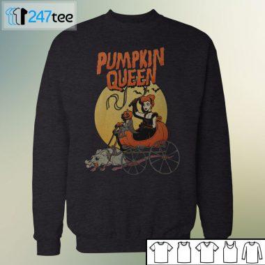 pumpkin queen murder apparel halloween T-shirt