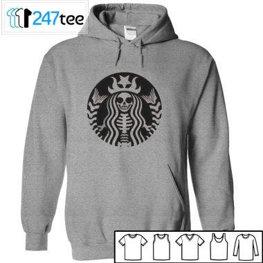Starbuck skeleton halloween shirt