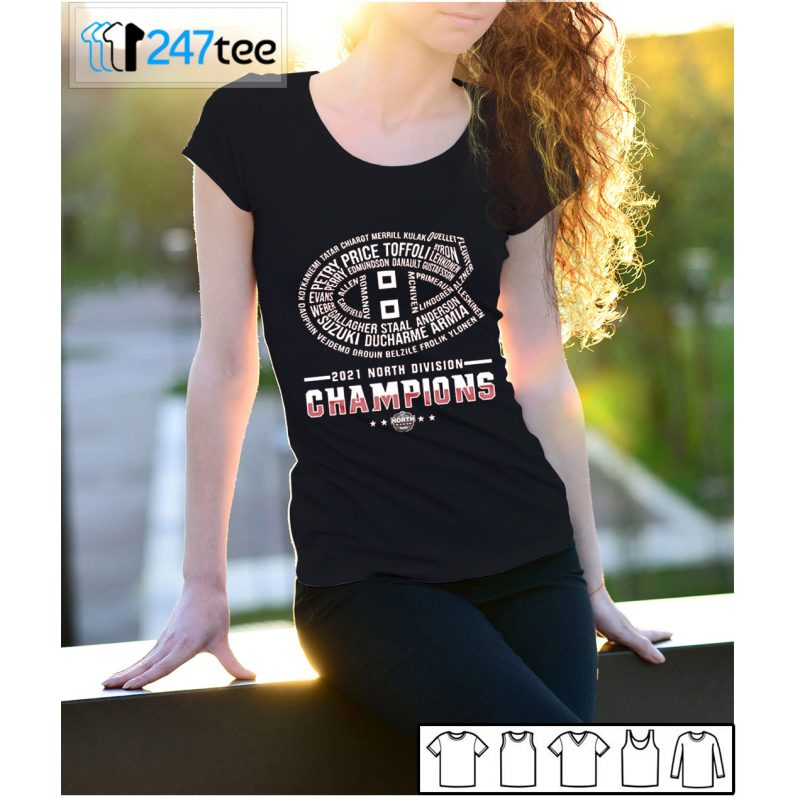 2021 North Division Champions T-shirt, Long Sleeve, Hoodie
