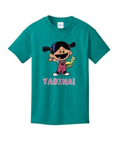 Yadina cyan T-shirt, Long Sleeve, Hoodie