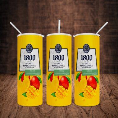 1800 Margarita Mango Skinny Tumbler 20oz 30oz