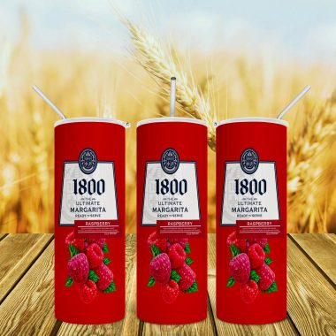 1800 Margarita Raspberry Skinny Tumbler 20oz 30oz