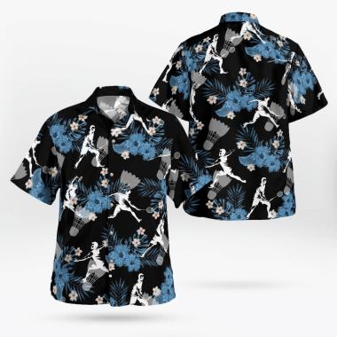 Badminton Hawaiian Shirts, Beach Short
