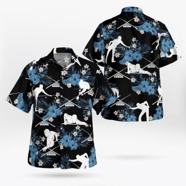 Billiards pool Hawaiian Shirts, Beach Short