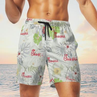 Chick Fil A Hawaiian Shirts, Beach Short, hawaii short, beach shirt