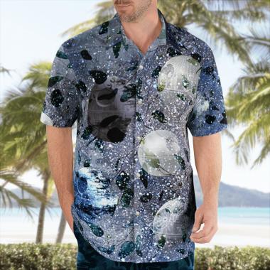 Death Star Wars Hawaiian Shirts, Beach Short