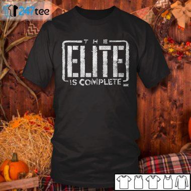 Men T Shirt Adam Cole The Elite is complete Shirt