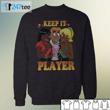 Unisex Sweatshirt vintage keep it player t shirt