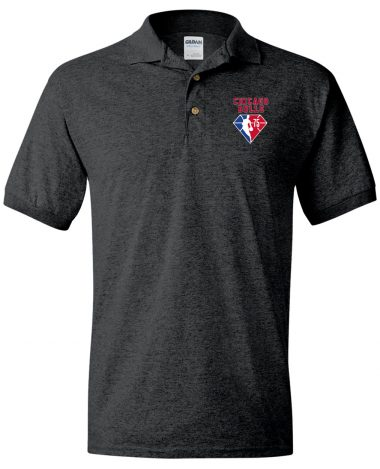 Dark Polo Shirt Chicago Bulls NBA 75th Anniversary Polo Shirt